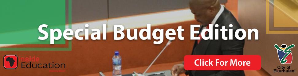 city of ekhurleni special budget edition